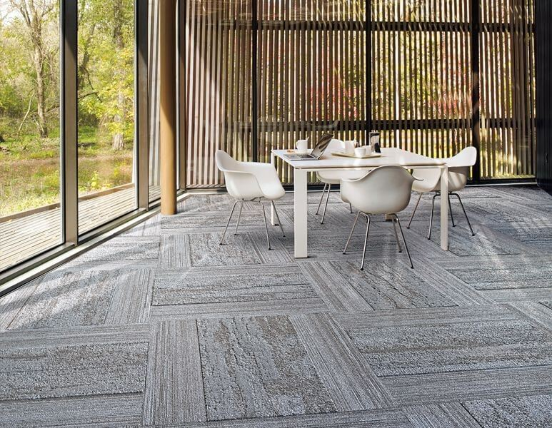 interface biophilic design flooring
