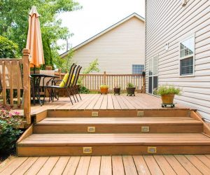 outdoor deck patio